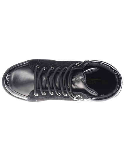 черные Сникерсы Versace Jeans VQBSI2-75440-899_black размер - 39; 40