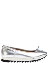 Женские балетки JOHN GALLIANO 7906_silver