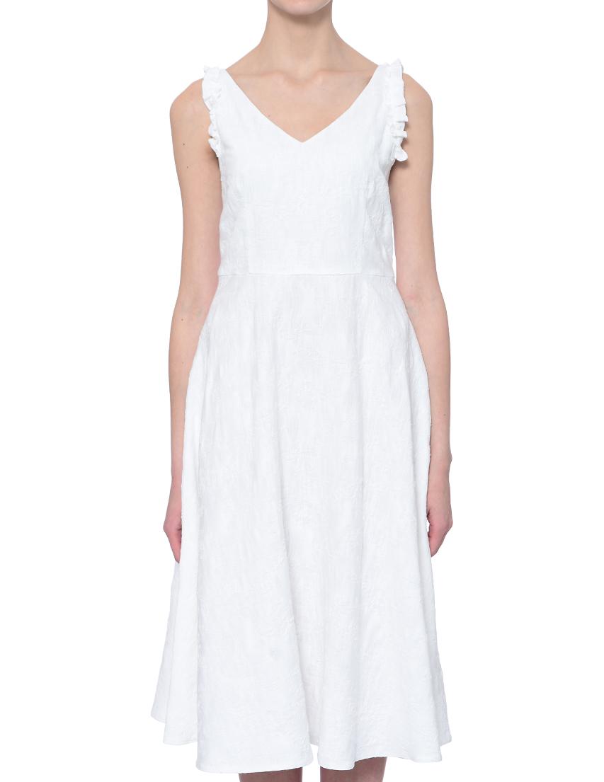 Купить Платье, IBLUES, Белый, 85%Хлопок 15%Вискоза, Весна-Лето