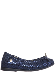 Детские балетки для девочек Naturino 3998-blue