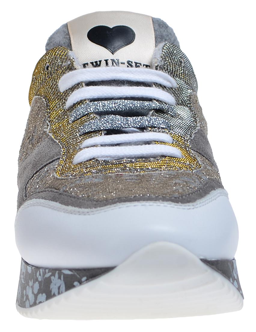 Фото 4 - женские кроссовки  цвет многоцветный