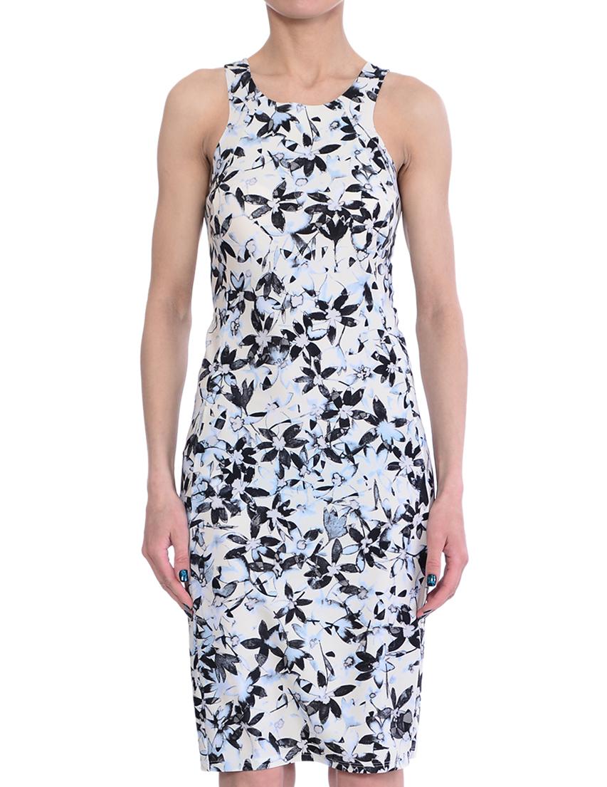 Купить Платье, PATRIZIA PEPE, Многоцветный, 20%Эластан 80%Полиамид, Весна-Лето