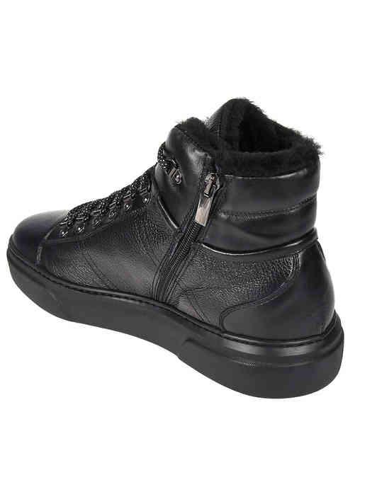 черные мужские Ботинки Bagatto AGR-1701-black 7160 грн
