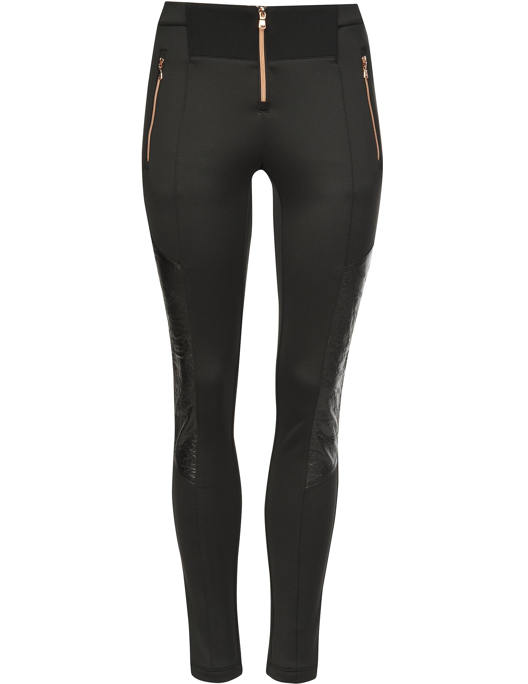 Женские брюки EA7 EMPORIO ARMANI 6ZTP72-1200_black