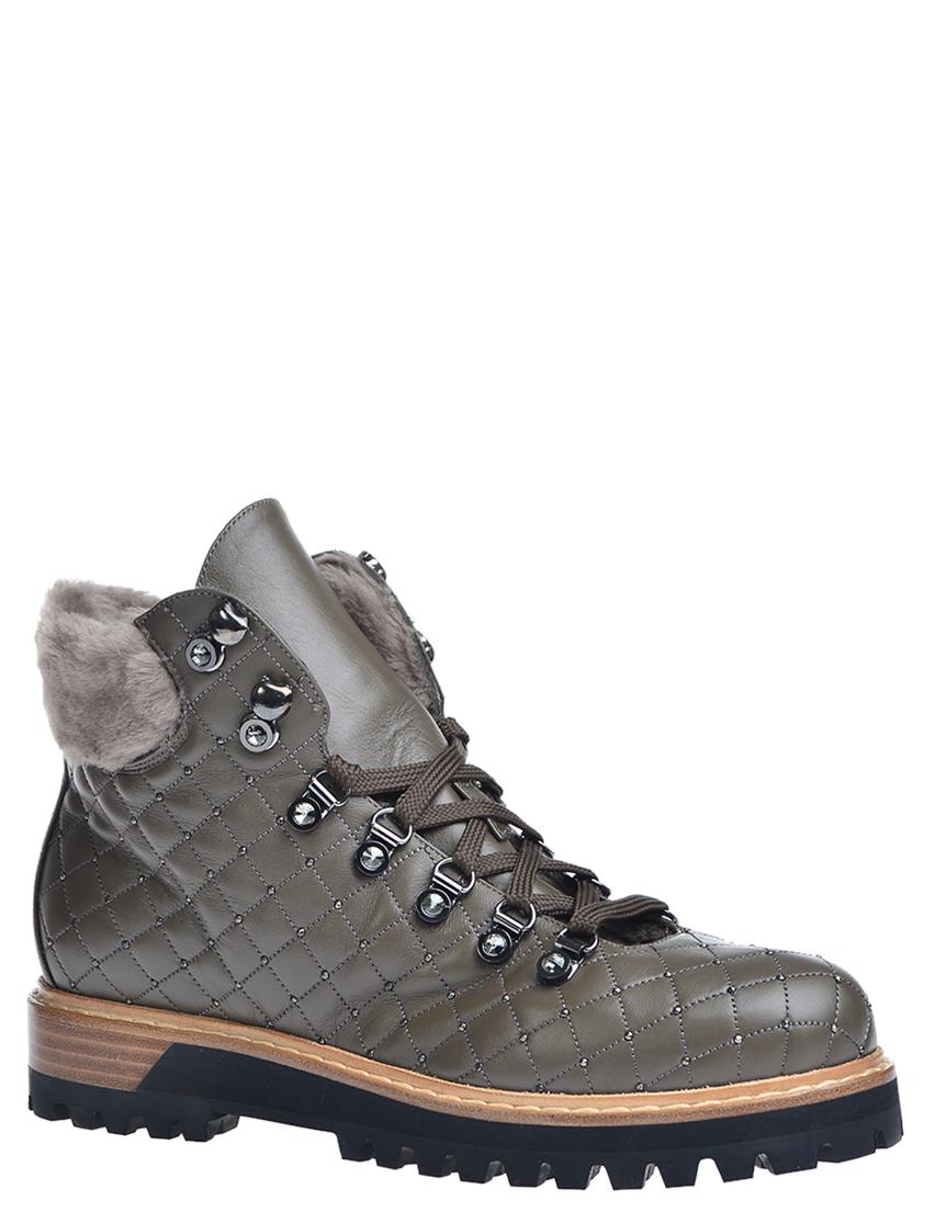 Купить Ботинки, LE SILLA, Зеленый