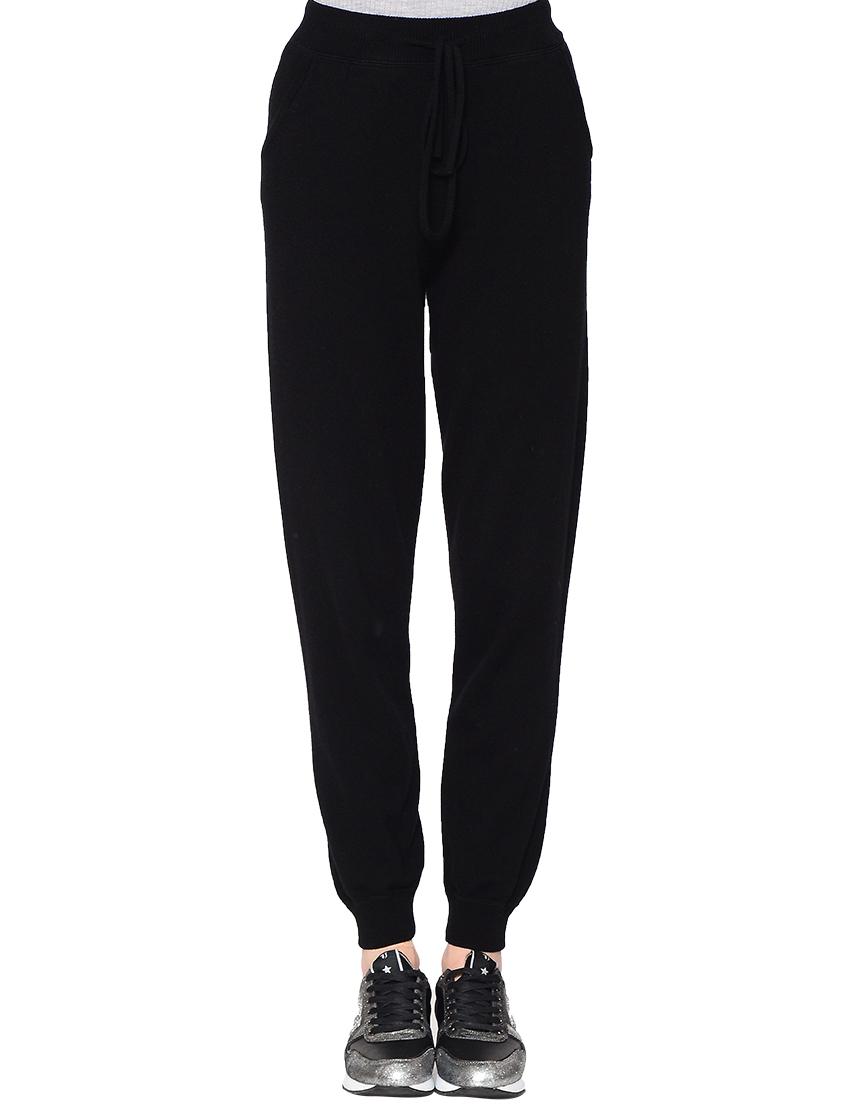 Купить Спортивные брюки, BALLANTYNE, Черный, 100%Кашемир, Осень-Зима