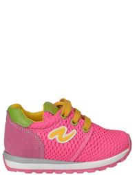 Детские кроссовки для девочек NATURINO Wallfuxia_pink