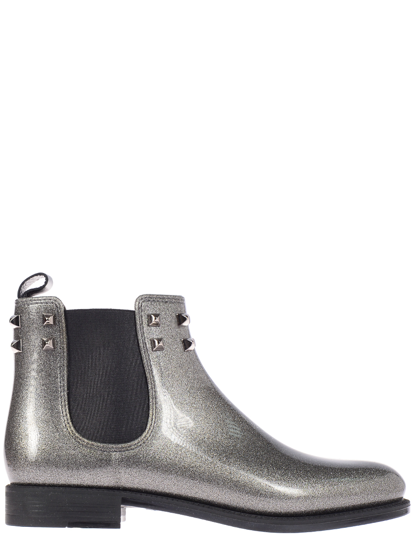 Женские ботинки Menghi 1377fm-nero-glitter-argento_silver