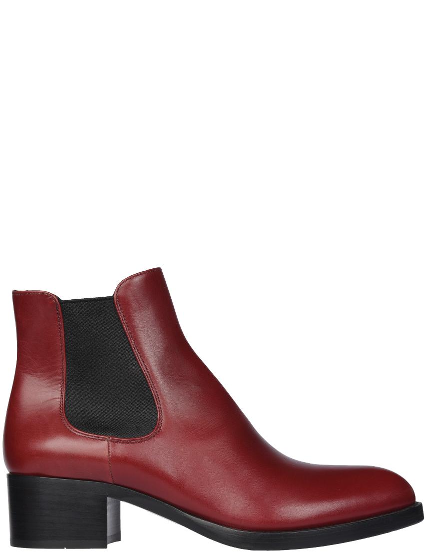 Женские ботинки Prada PR8621_bordo