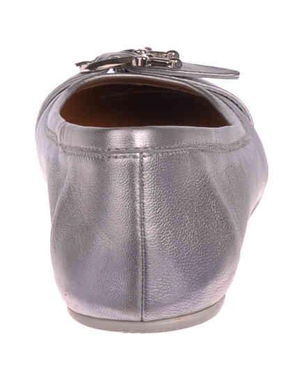 серебряные Балетки 4US Cesare Paciotti HNB89 размер - 37