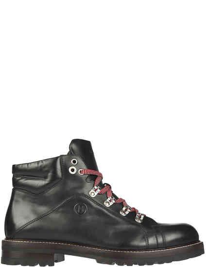 мужские черные Ботинки Bogner 183-D531-01 - фото-2