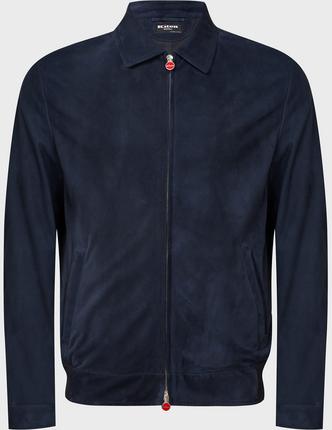 KITON кожаная куртка