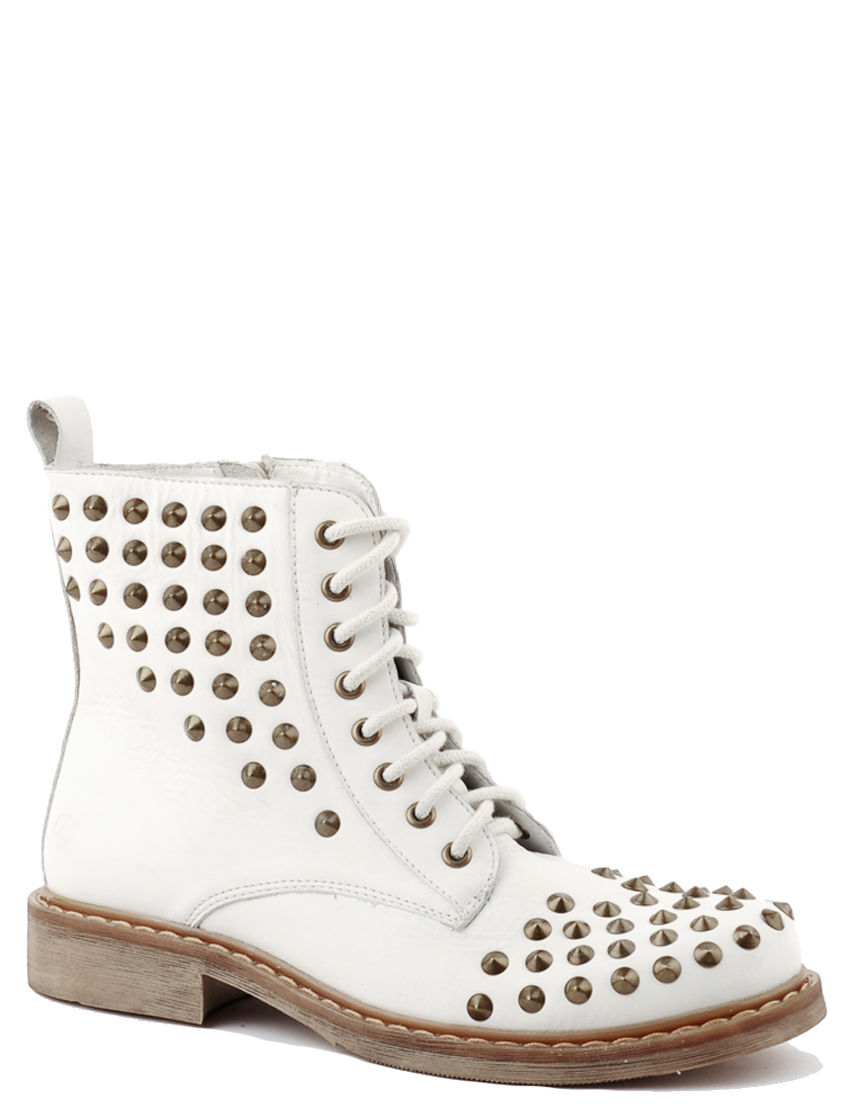Купить Ботинки, BRONX, Белый, Осень-Зима