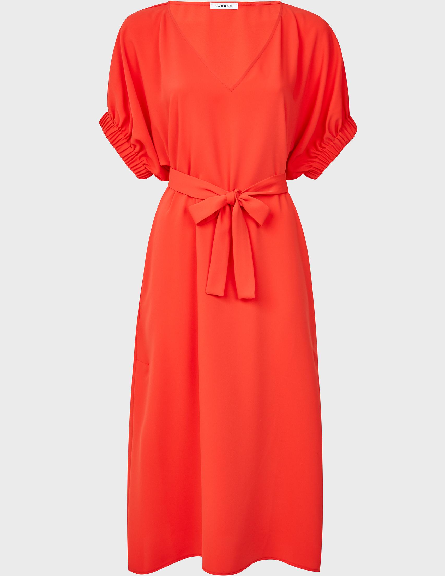 Платье, Красный