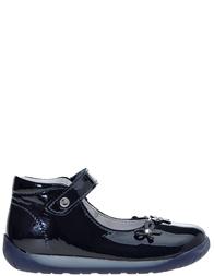 Детские туфли для девочек Naturino 1458-bleu_blue