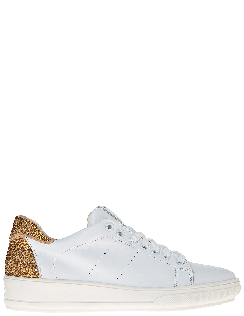 Фото - женские кроссовки  белого цвета