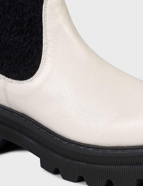 женские бежевые кожаные Ботинки Voile Blanche 0012501958.01.1B83 - фото-5
