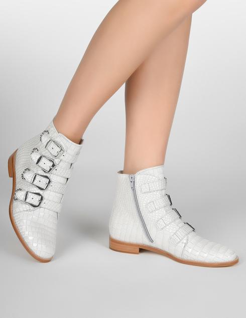 бежевые Ботинки Pertini 191W15844D2