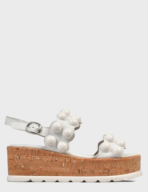 женские белые Босоножки Pertini 211W30695D2 - фото-6