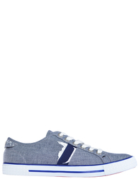 Мужские кеды Trussardi Jeans AGR-77520_blue