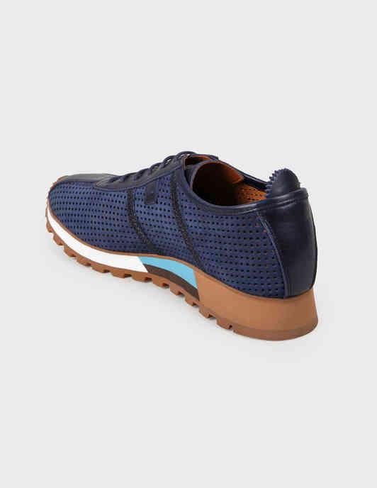 синие мужские Кроссовки Roberto Serpentini 58327-NB-blunotte-blue 7397 грн