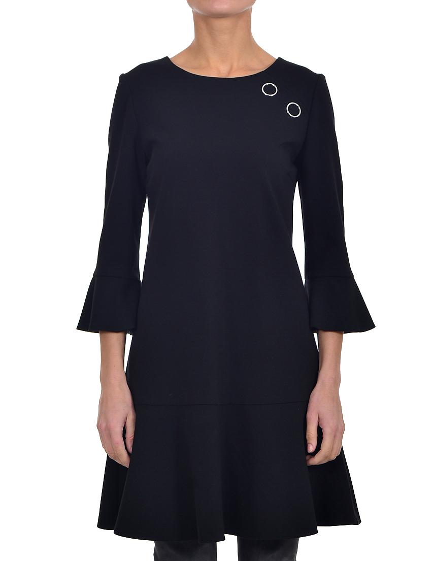 Купить Платье, PINKO, Черный, 60%Вискоза 35%Полиамид 5%Эластан, Осень-Зима