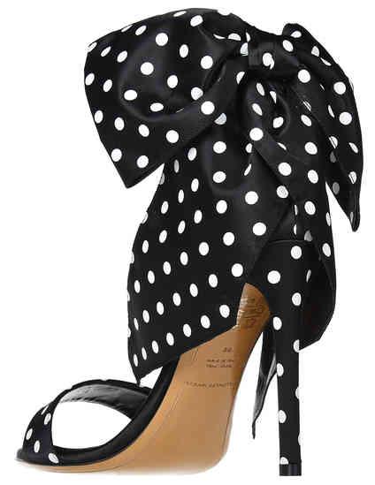 черные женские Босоножки Alexandre Vauthier 316-black 19677 грн