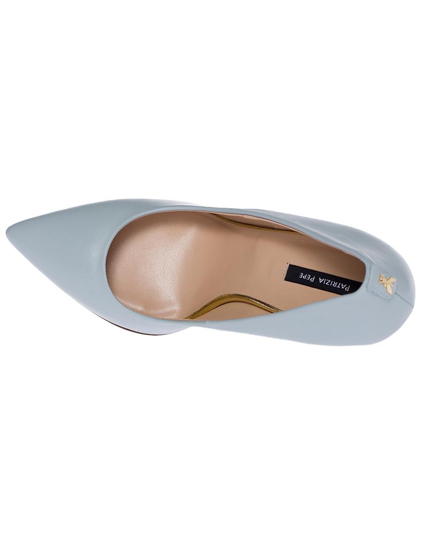 Фото 5 - женские туфли  голубого цвета