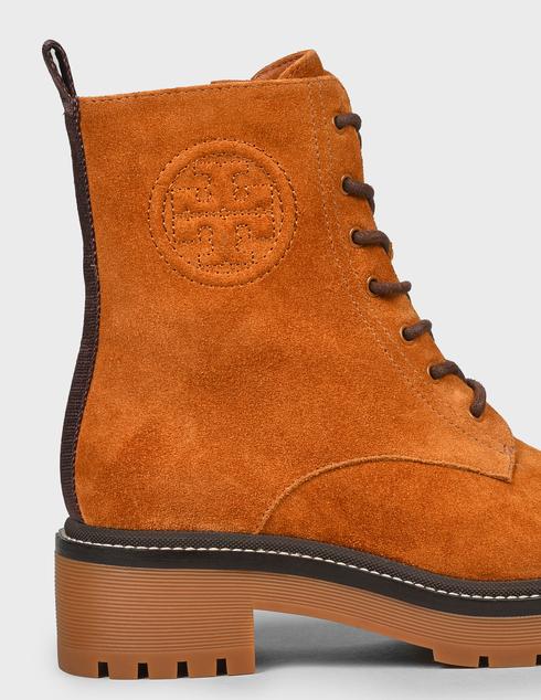 женские коричневые замшевые Ботинки Tory Burch 75437-RHUM - фото-5