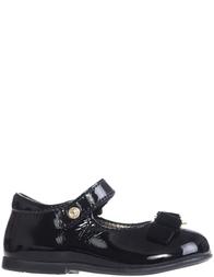 Детские туфли для девочек Naturino 4891-vernice-nero-black