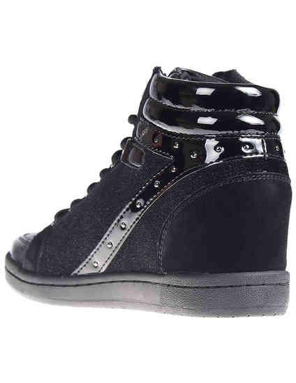 черные женские Сникерсы Versace Jeans VQBSI2-75440-899_black 4275 грн