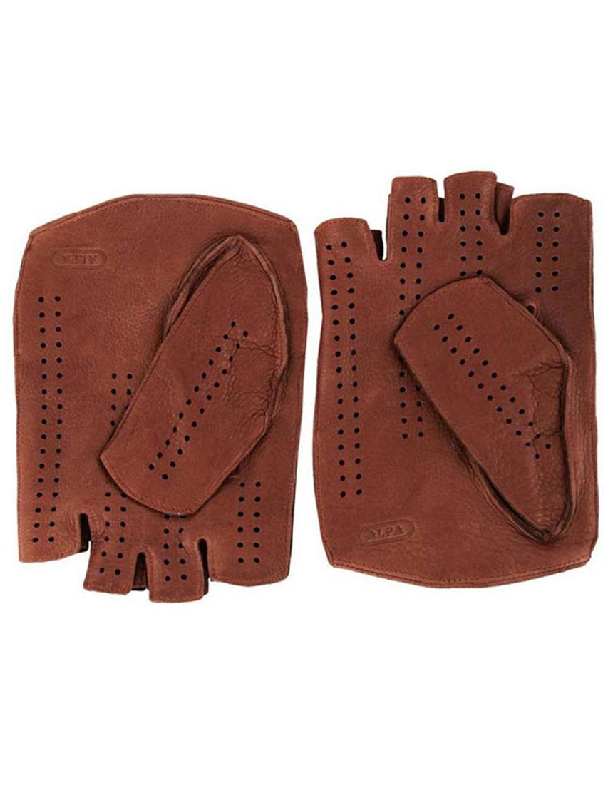 Мужские перчатки ALPA GLOVES A-1-C703-015walnut