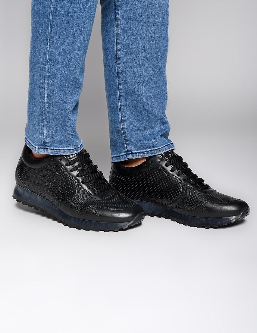 Мужские кроссовки Roberto Cavalli 4226_black