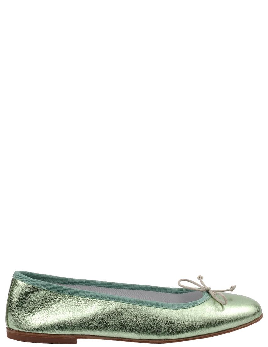 Детские балетки для девочек GALLUCCI 1912-green