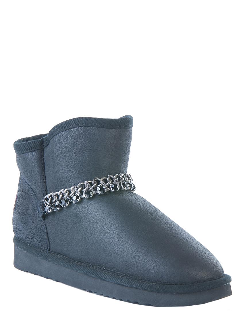 Купить Ботинки, MOU, Черный, Осень-Зима