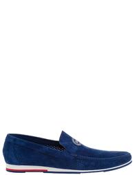 Мужские мокасины MARIO BRUNI 58429_blue