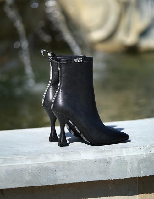 женские черные Ботильоны Versace Jeans Couture 71VA3S86-899 - фото-2