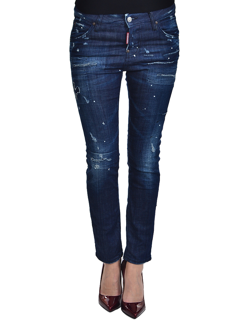Женские джинсы DSQUARED2 0730_blue
