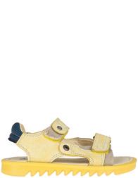 Детские босоножки для девочек Naturino 3904_yellow