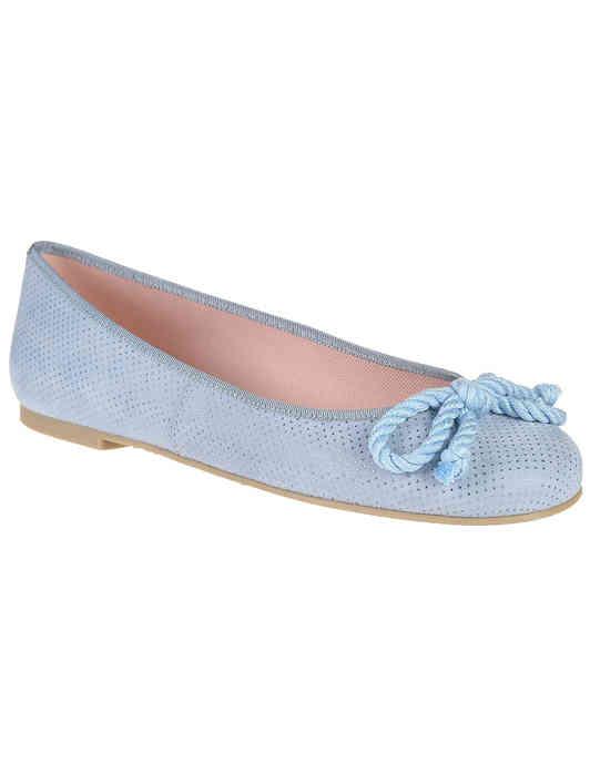 женские голубые Балетки Pretty Ballerinas 35.663 9001 - фото-2
