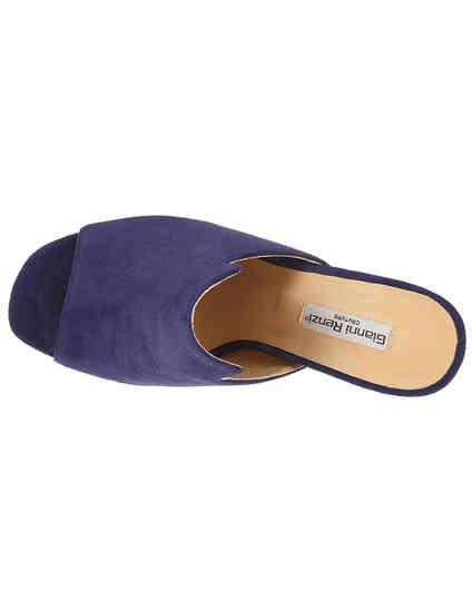 фиолетовые Мюли Gianni Renzi RA1436D размер - 36; 37; 38; 39