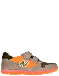 Детские кроссовки для мальчиков Naturino Sammy-tortora-kaki_beige