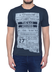 Мужская футболка TRUSSARDI JEANS 52T24-119_grey