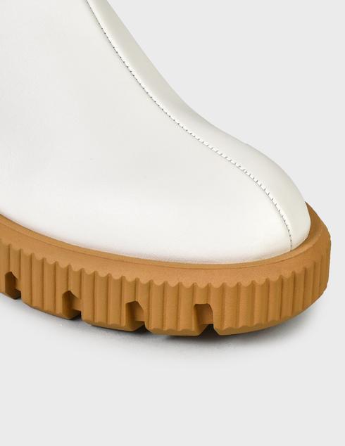 женские белые кожаные Ботинки Baldinini D2B620VIGE9002 - фото-5