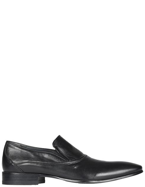 мужские черные кожаные Туфли Giovanni Conti 2466_black - фото-5