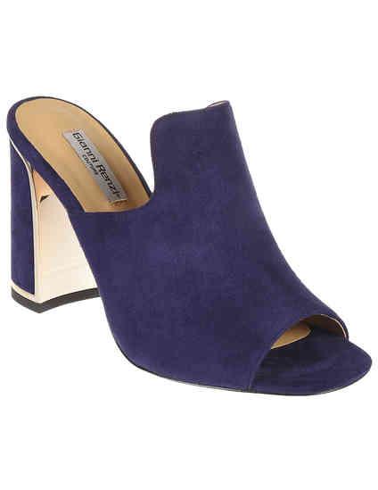 женские фиолетовые Мюли Gianni Renzi RA1436D - фото-2