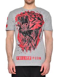 Мужская футболка PHILIPP PLEIN 0120_grey