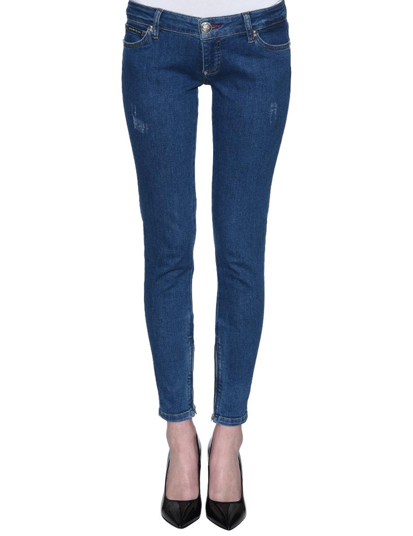 Женские джинсы PHILIPP PLEIN 0606_blue