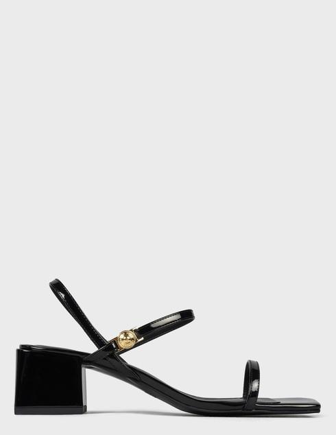 женские черные Босоножки Versace Jeans Couture E0VWAS32-899 - фото-6