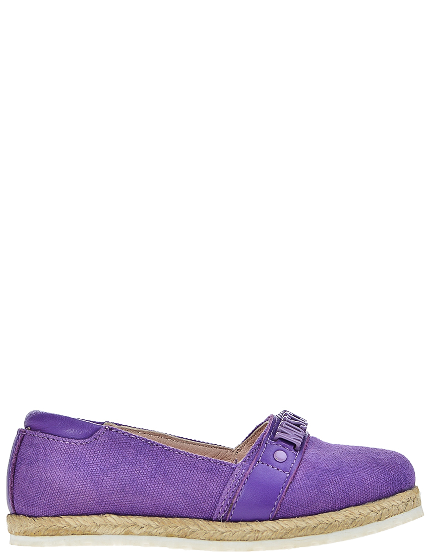 Детские мокасины для девочек Moschino 25832-lilla_purple